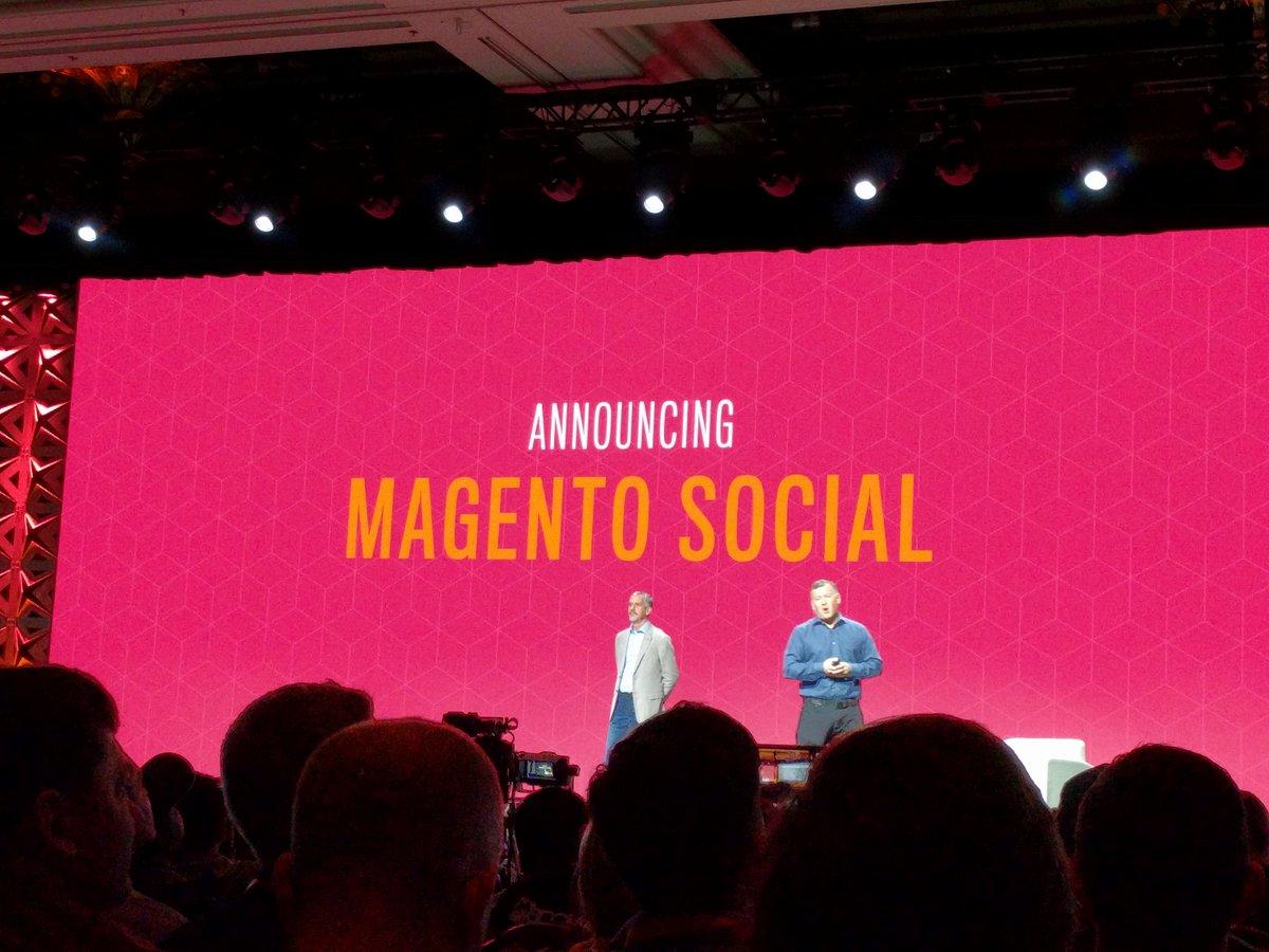 barbanet: Magento Social #Magentoimagine https://t.co/K7lYjIqN1u