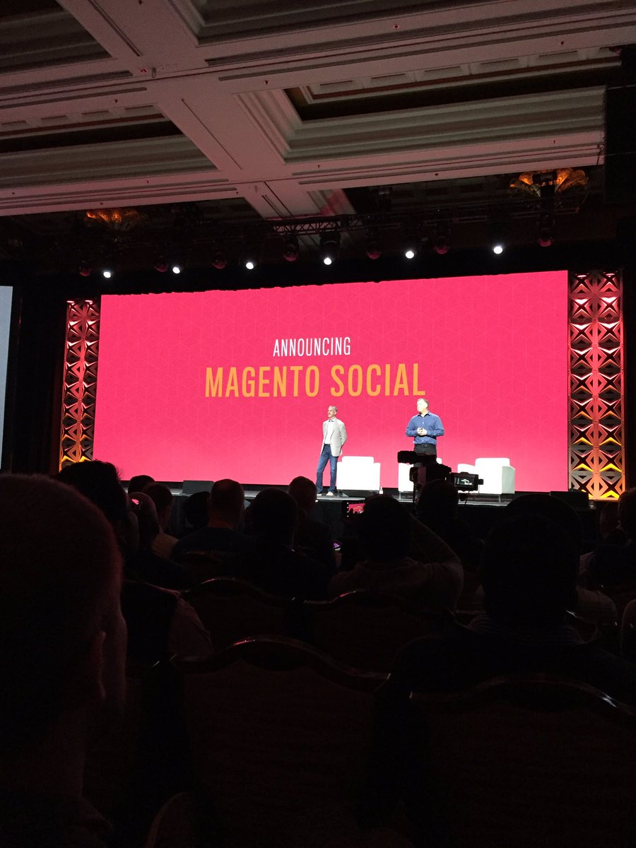 gaugeteam: Extend your online stores across social channels with SAAS! #MagentoImagine #Imagine2017 https://t.co/4Ya6h0mugL