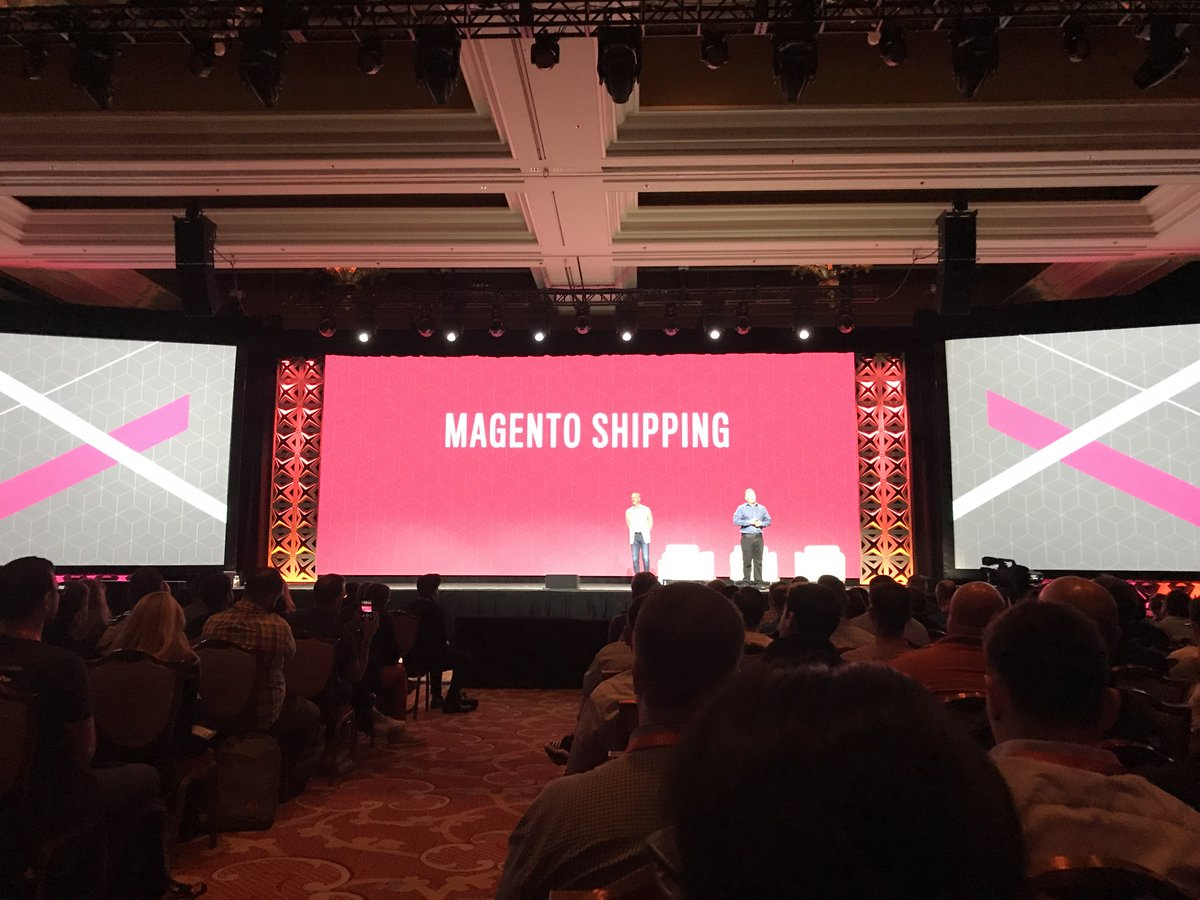 jhuskisson: Magento launches @magento shipping to bring significant steps forward in shipping management #MagentoImagine https://t.co/j5rnBX7zFI