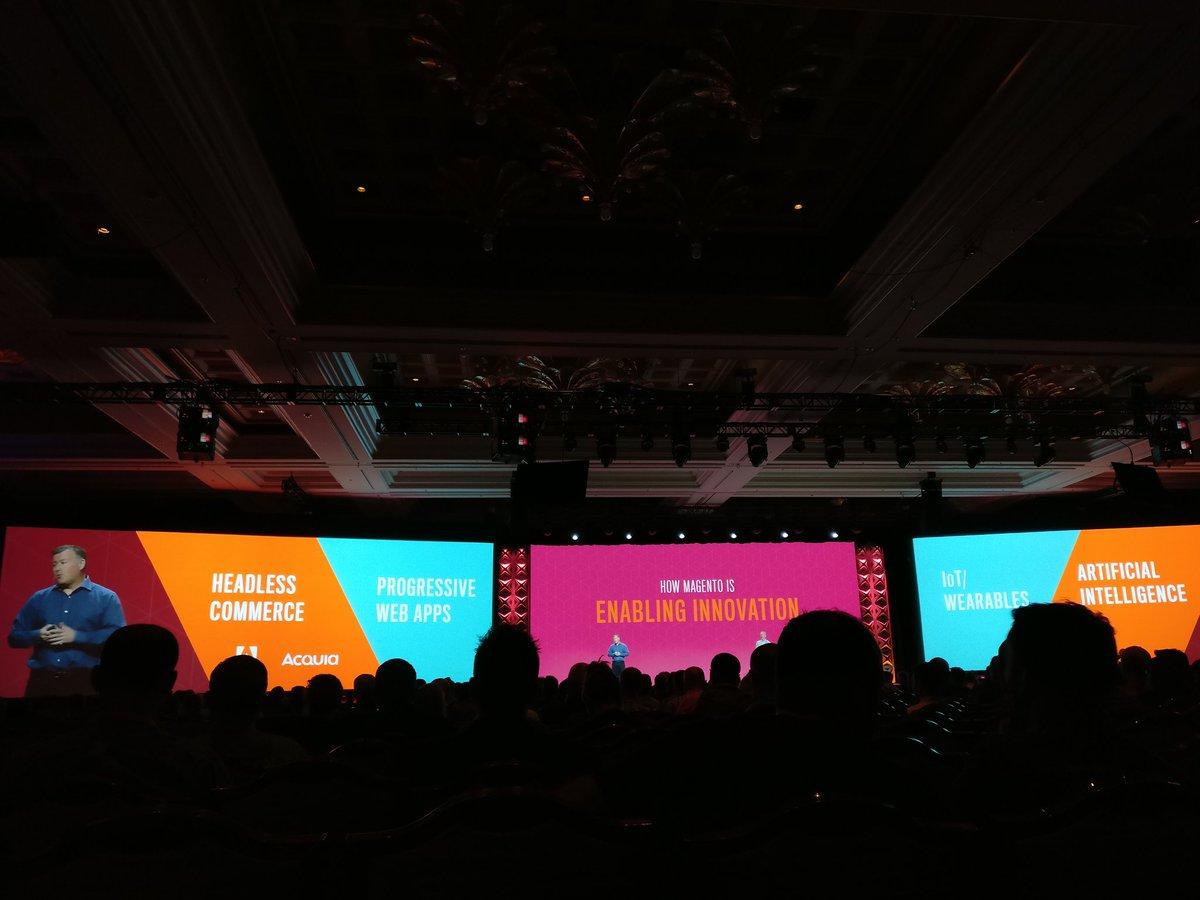 sherrierohde: How Magento is enabling innovation. #MagentoImagine https://t.co/r1IdtLJTqk