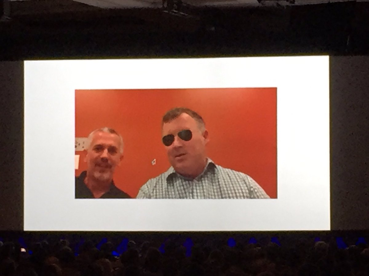 craigpeas: Awesome too see the innovation built on top of @magento. #AugmentedReality #MagentoImagine https://t.co/qx3wRifqXJ