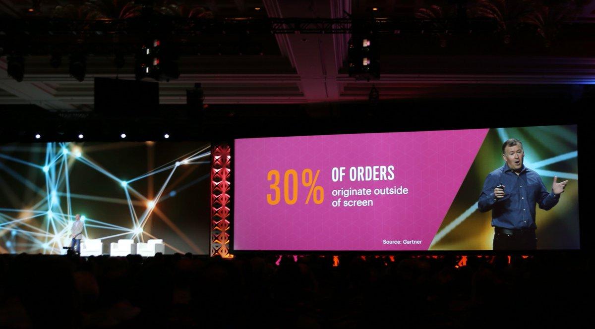 classyllama: 30% of orders originate outside of screen #Magentoimagine https://t.co/eTA43UAzDi