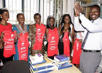 Buganda beauty queens support Kabaka run