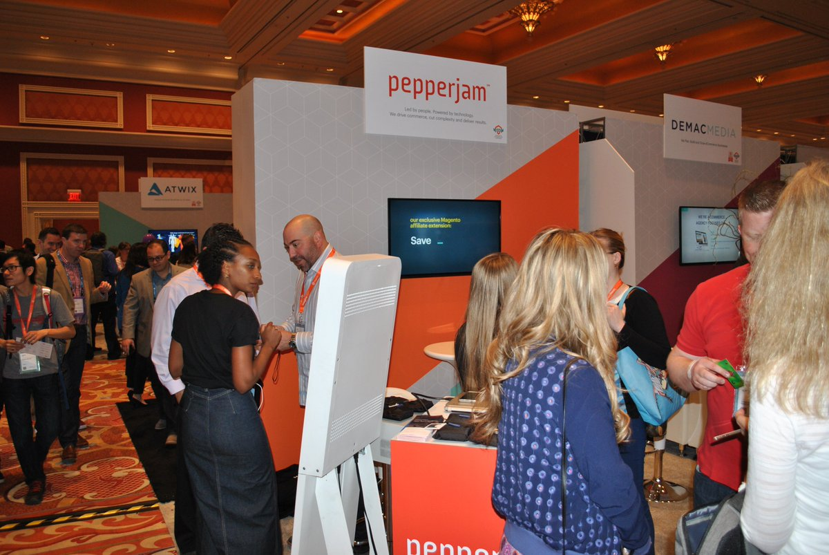 pepperjam: Booth #509 is the place to mingle at #MagentoImagine. Stop by, talk to an expert and #RethinkAffiliate https://t.co/GKaEHNPtF9