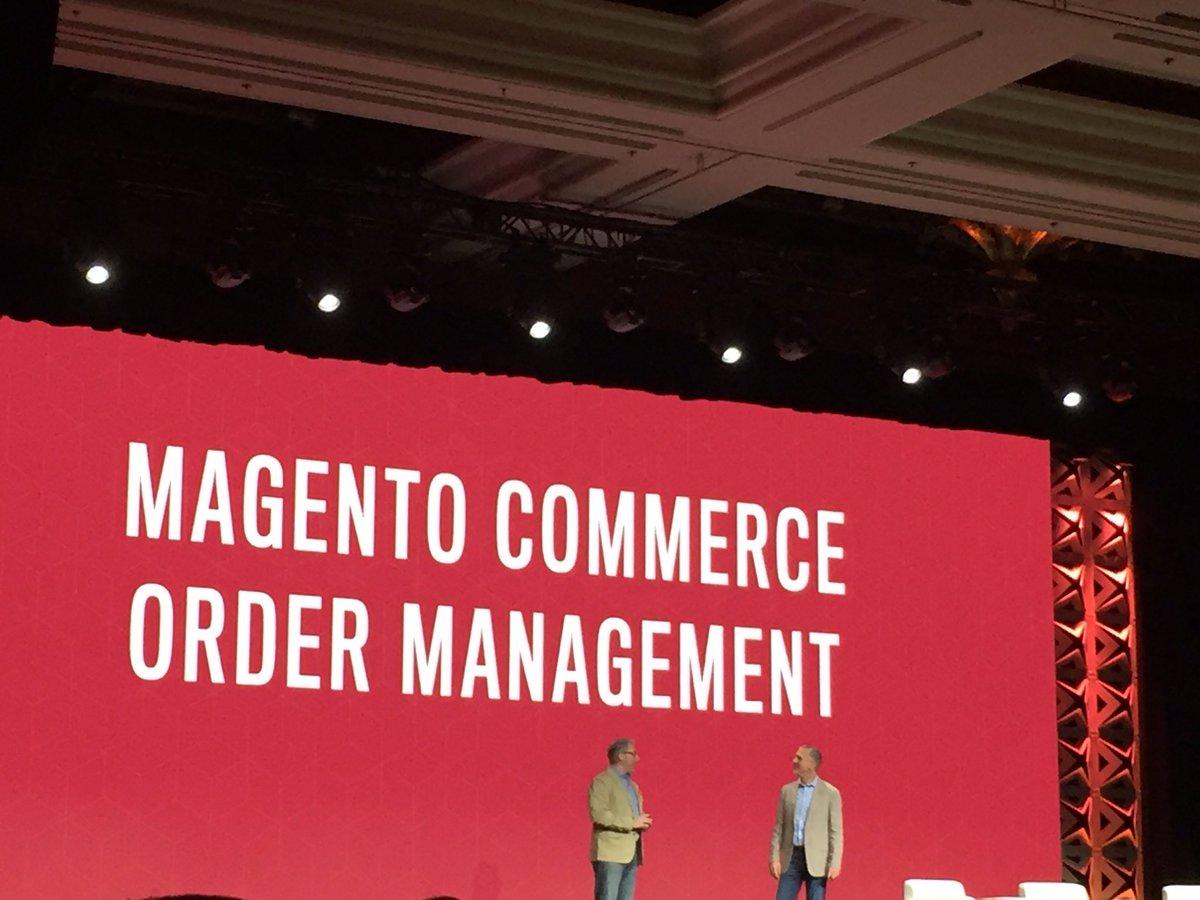 DCKAP: @msonier21 talking about @magento commerce Oder management #MagentoImagine #imagine2017 https://t.co/wulGUqlL4O