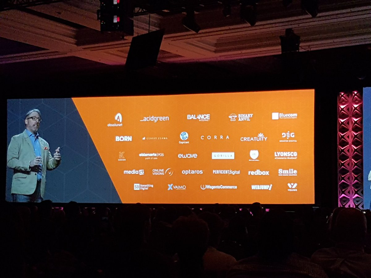 rlieser: I am missing two logos.... Greetings from Germany @magento #Magentoimagine https://t.co/3FmbKCI6kG