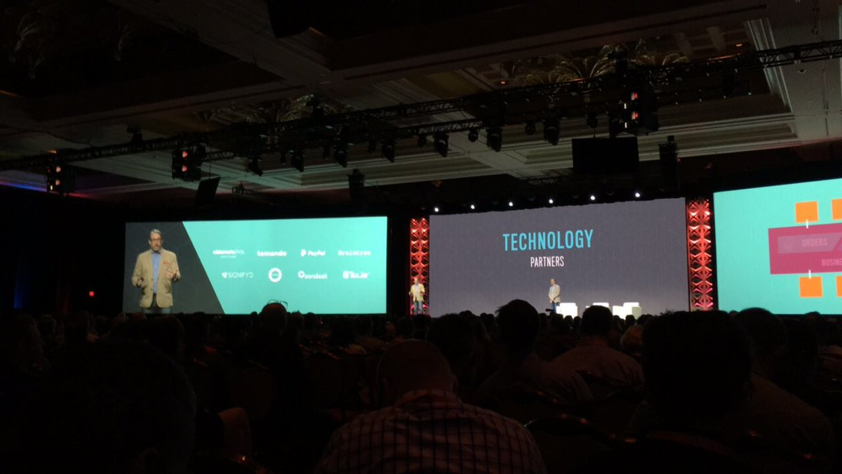 blackbooker: Look at that list of technology partners. Some very cool names up there! #MagentoImagine https://t.co/XG6H7ysd2V