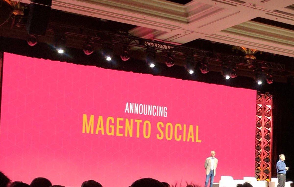 pinofilice: Magento Social....BOOOMMM!!!!! #Magentoimagine #magentoimagine2017 https://t.co/cBvAqiNgMg
