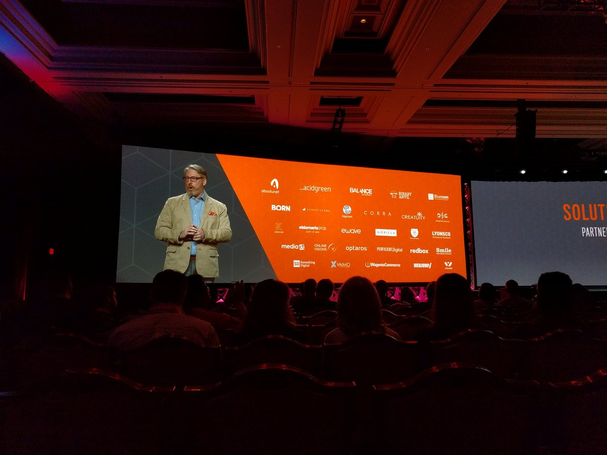 philwinkle: We at @SomethingDigitl are ready for MCOM! #Magentoimagine https://t.co/NgbeZBnKGx