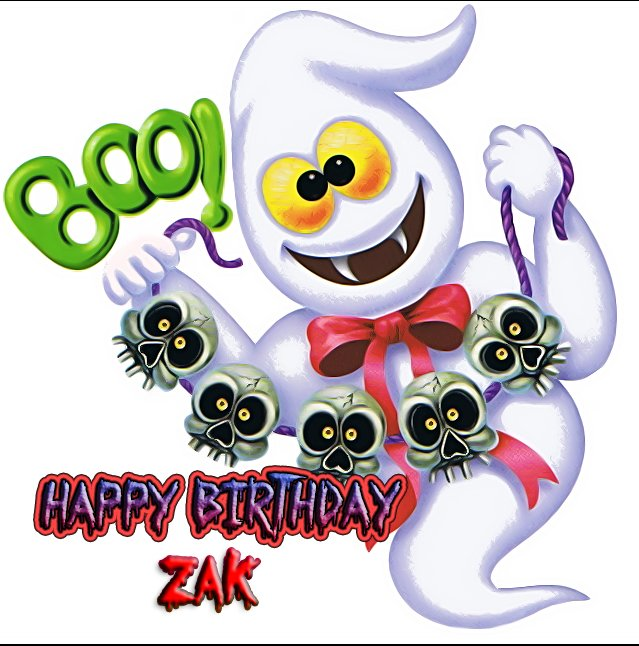 happy Birthday ZAK