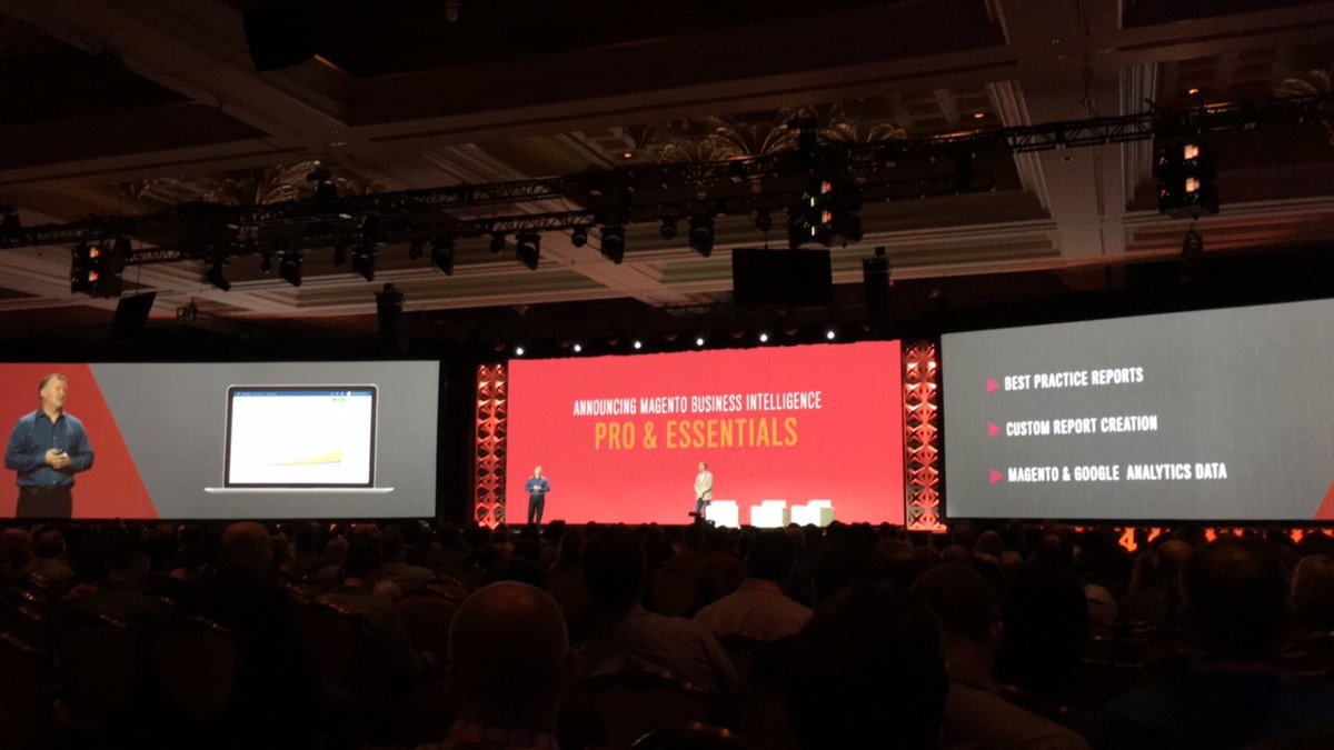 blackbooker: A new Magento BI Essentials suite, geared at making BI available to more merchants. Yeah baby! #MagentoImagine https://t.co/0A1YtdIfzJ