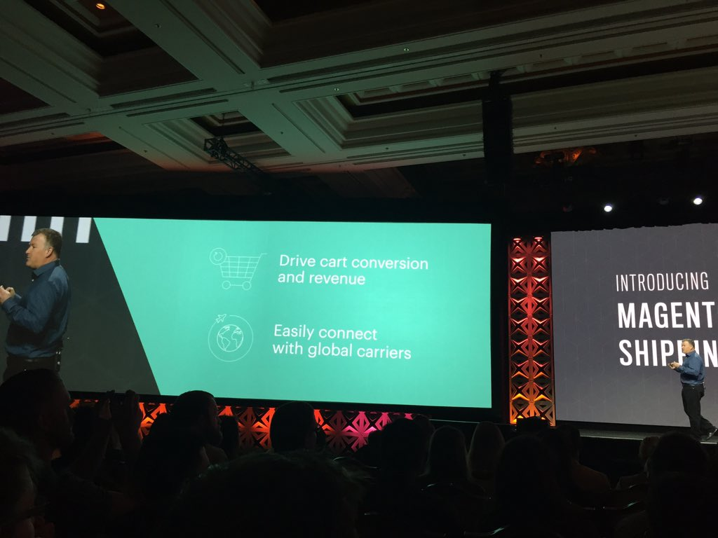 OSrecio: Presented 'Magento Shipping at #MagentoImagine Improve your engagement and revenue in cart https://t.co/phBkxdJE36