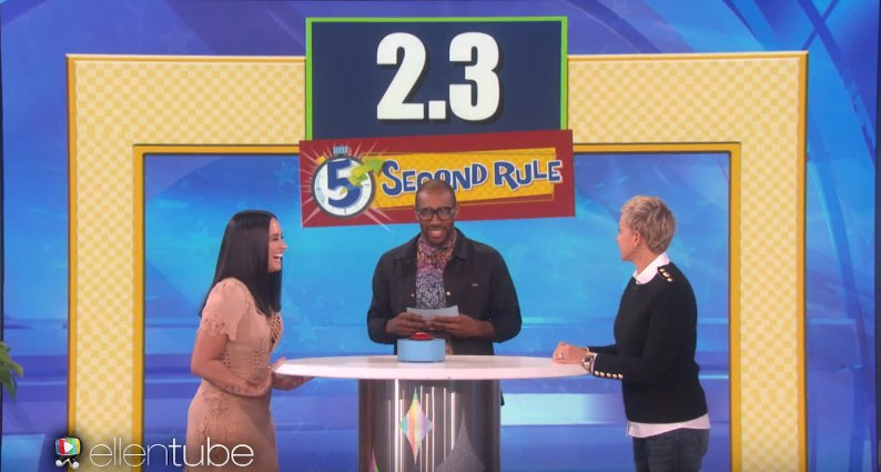.@ddlovato played a hilarious R-rated game of '5 Second Rule' with @TheEllenShow! https://t.co/laYt6Rqh6w ������ https://t.co/bCN29d9gIi