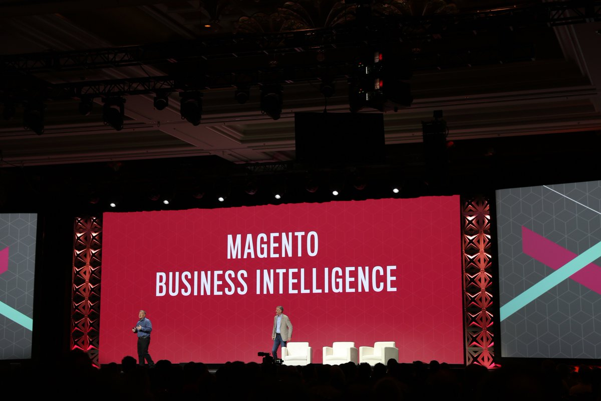 classyllama: 75 predefined reports with customized reports and dashboards with Magento BI @ProductPaul  #Magentoimagine https://t.co/Rxy1O792Il
