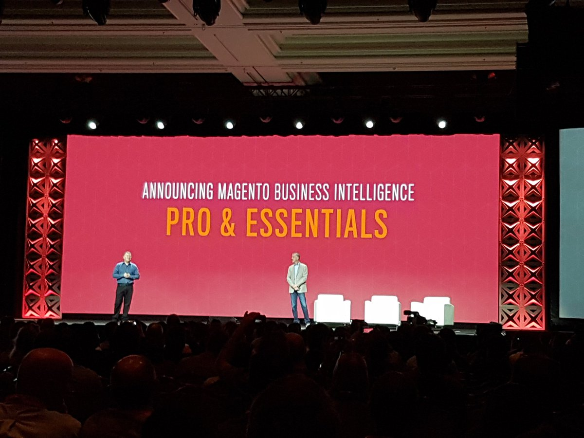 rlieser: Announcement of the @Magento Business Intelligence Software for Ecommerce #Magentoimagine https://t.co/CqWf5i5lqc