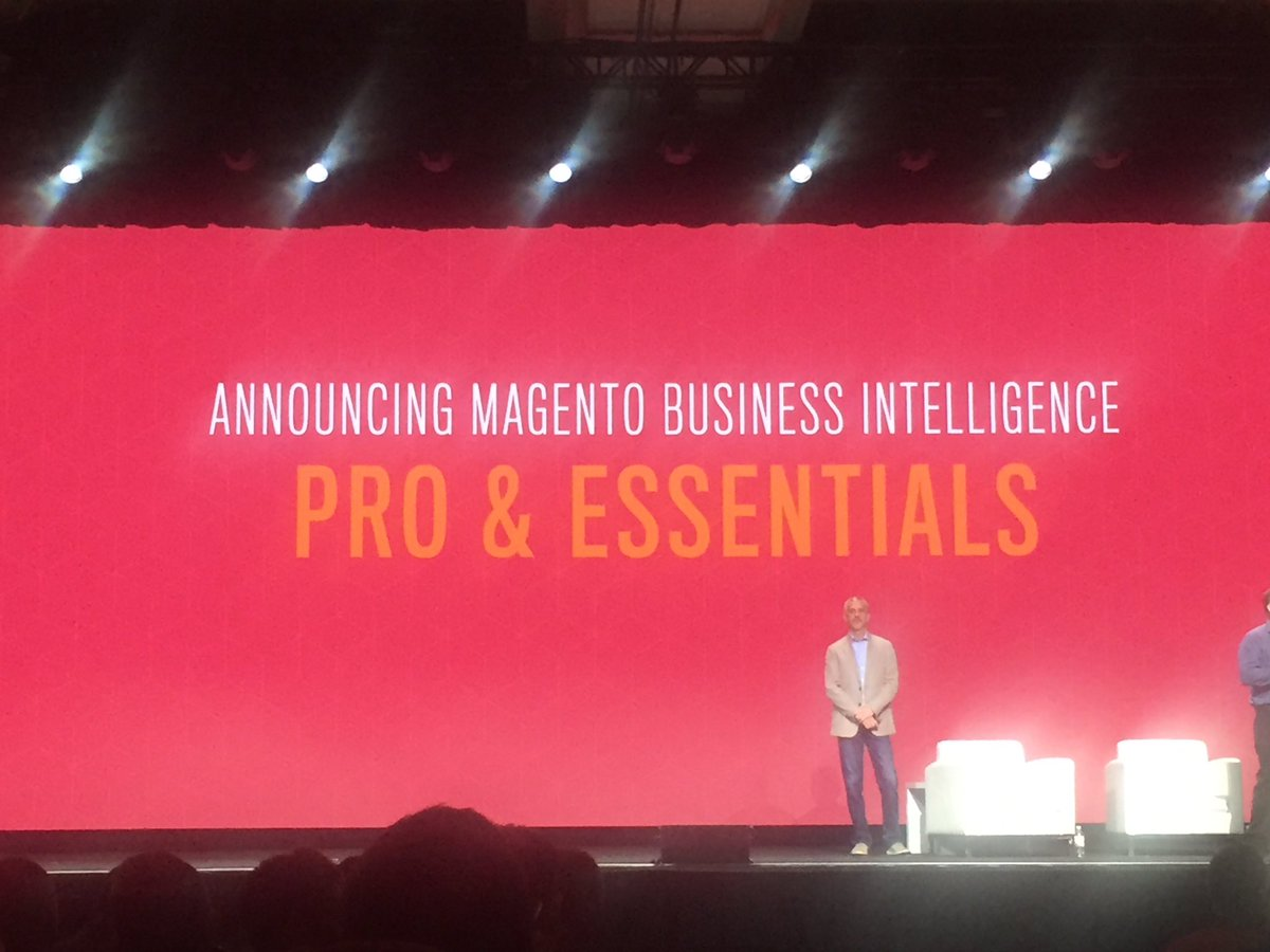AgenceSOON: Launch of Magento Business Intelligence #Magentoimagine #imagine2017#ecommerce https://t.co/RpyglWUmdt