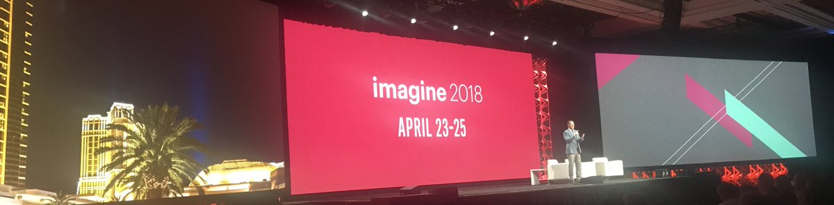 JohnHughes1984: #MagentoImagine 2018 announced April 23-25 https://t.co/2lzwI7jHvu