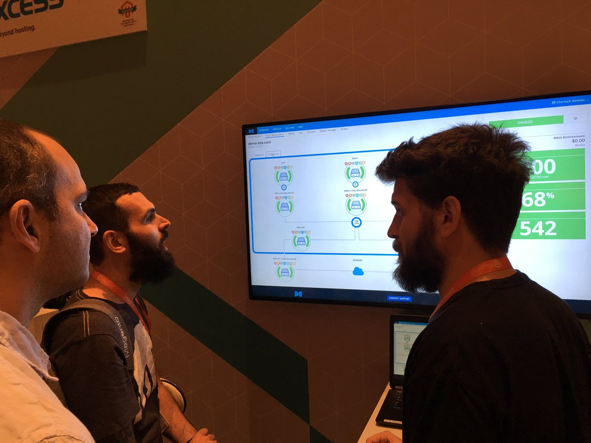 di_pola: The very own @mbalparda demoing @nexcess cloud to @ebizmarts at #Magentoimagine https://t.co/CkwxoUMBZ1
