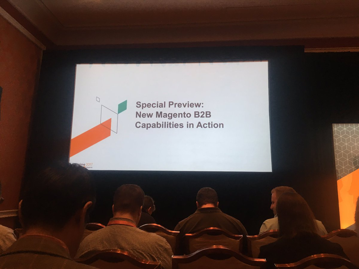 iwebtweets: Looking forward to this session after seeing a sneak preview in this mornings keynote. #MagentoImagine https://t.co/BUz8iOtRv6