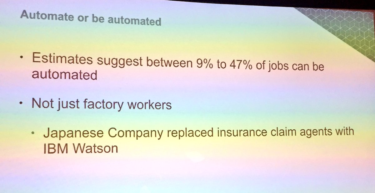 annhud: Automation isn't just for factory jobs - @IBMWatson has automated insurance claims #AI #MagentoImagine https://t.co/nE5iBUVyNF