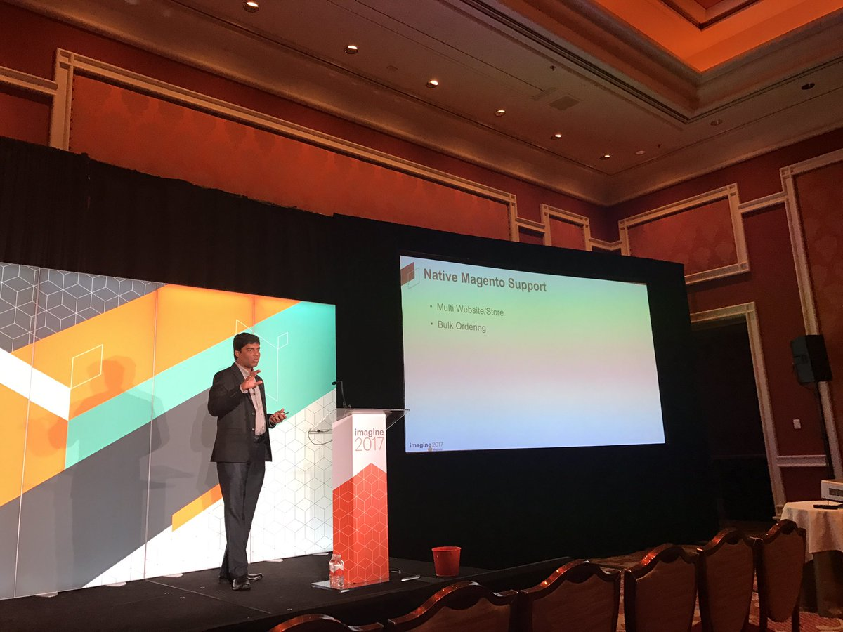 DCKAP: Native Magento Support for B2B. Session by @nmohanswe #Magentoimagine https://t.co/5F6uAexYPW