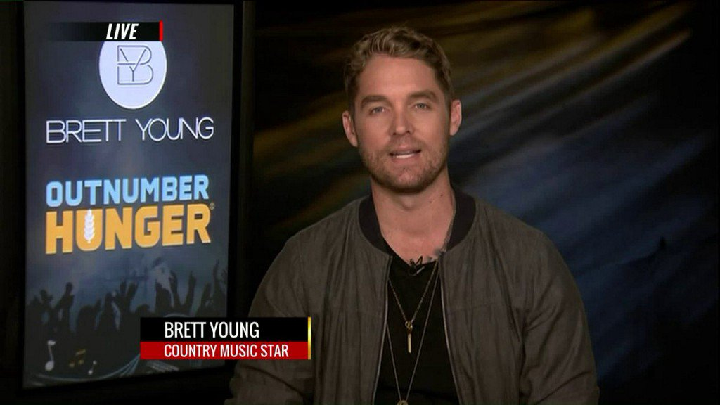 Brett Young joins the fight againsthunger