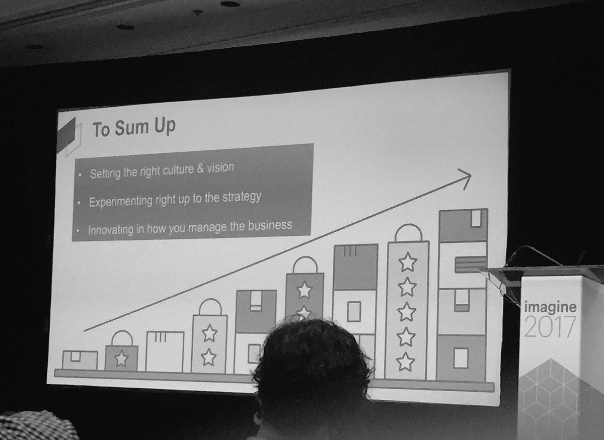 wearejh: Really inspiring talk by Edd & Ozzy about working in a LEAN way! @grazedotcom #Magentoimagine @ospadano https://t.co/oRCQ15Soqn