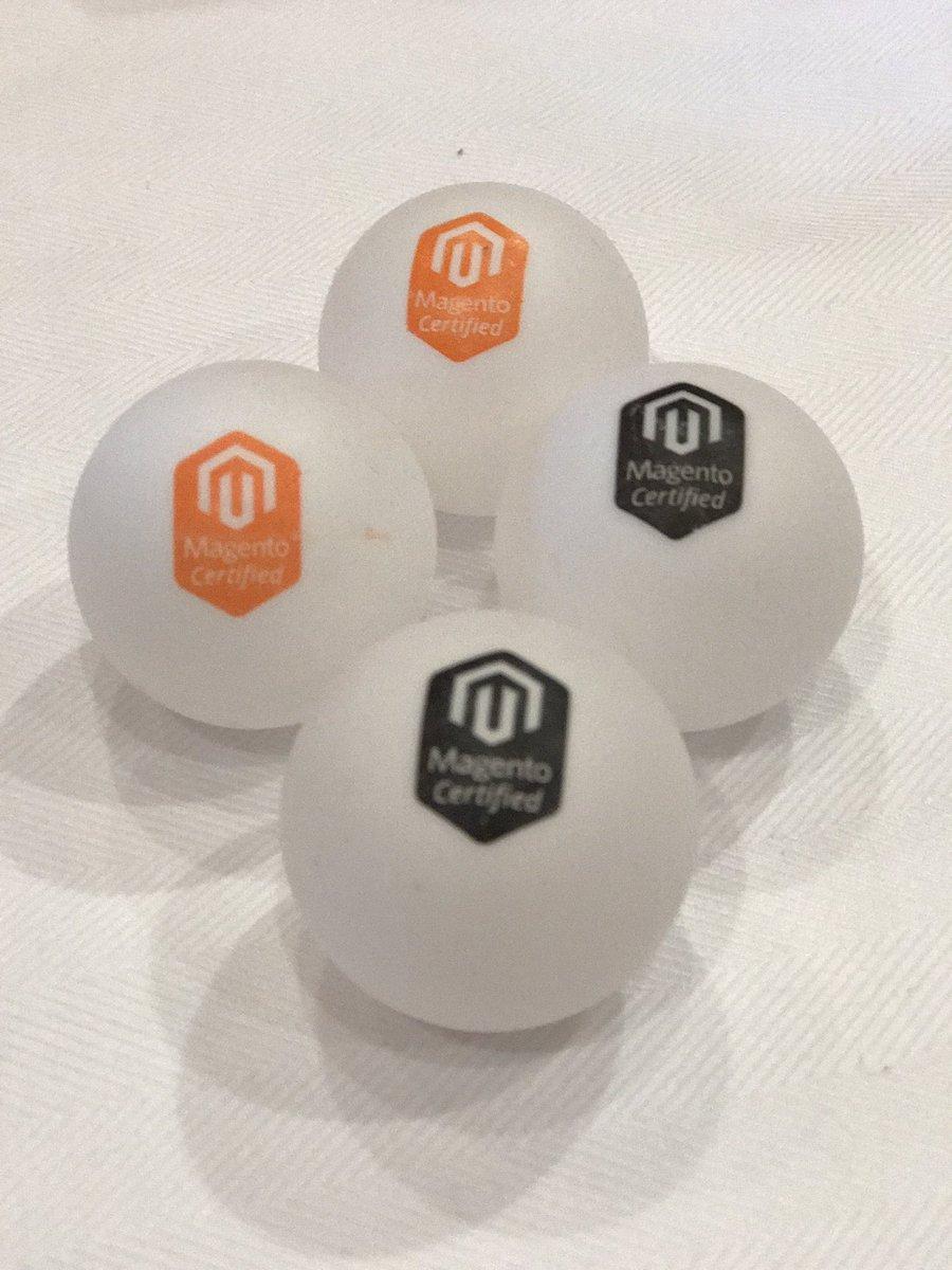 raybogman: #Magentoimagine pingpong balls, Lets Play! https://t.co/r3RChjAUTB