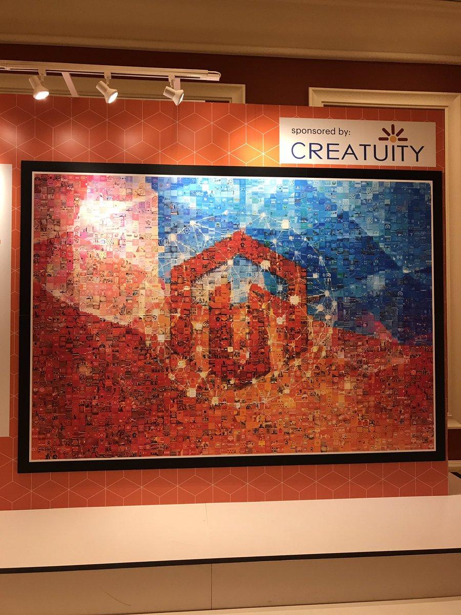 JoshuaSWarren: Here's the completed #MagentoImagine mosaic! https://t.co/c4RRYY9xwj