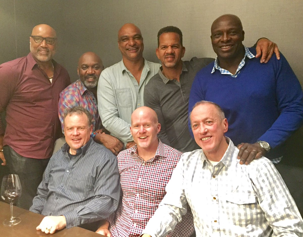 Head Coach Sean McDermott took the OGs to dinner last night! What. A. Crew.Here's why