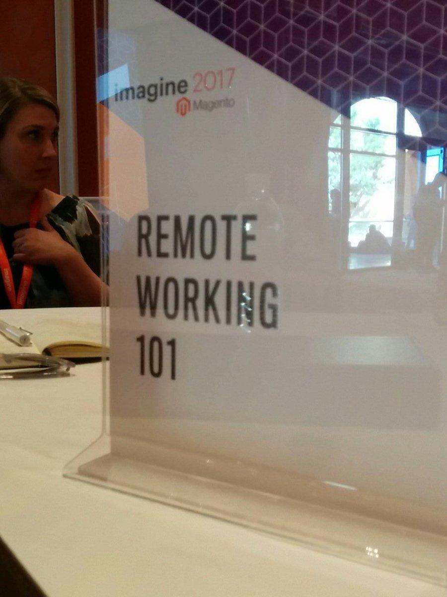 aleron75: My next table at #MagentoImagine DevExchange /cc @Bitbull_it https://t.co/vTuXpzrb8O