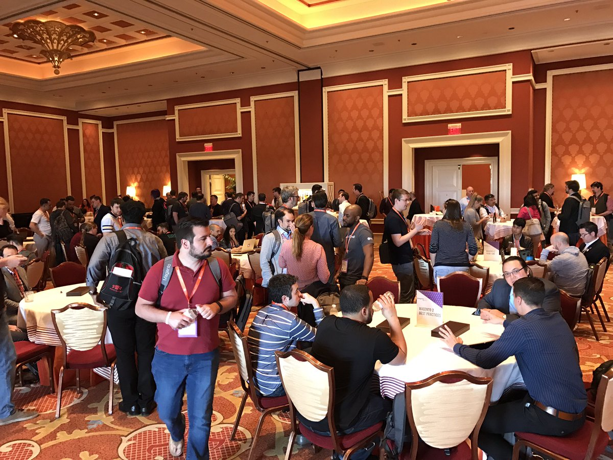 wearejh: Great turnout at the DevExchange #Magentoimagine https://t.co/HFIMIql6Qg