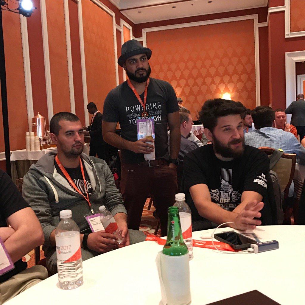markabrinton: The secrets of working remotely with @mbalparda @_Talesh @MariusStrajeru #Magentoimagine #devexchange https://t.co/ekq8QicnpT