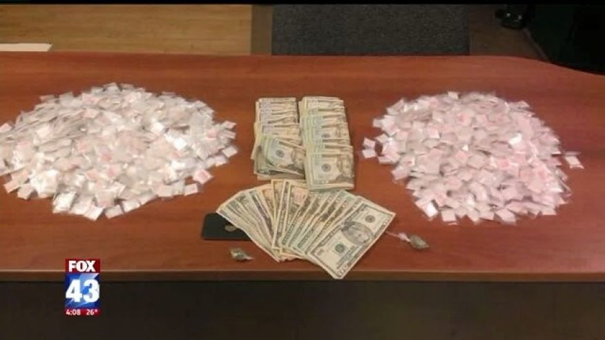 More than $13M in heroin, other drugs seized in Pennsylvania this year
