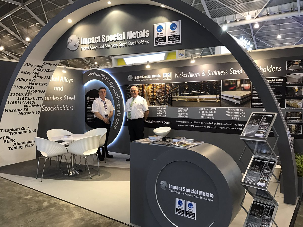 test Twitter Media - Impact Special Metals fantastic stand at MTA Singapore 🇮🇪 #mtasingapore #singapore #manufacturing #business #exhibition #mta https://t.co/uq2rWCrqOW