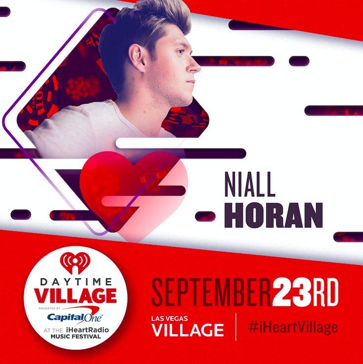 RT @NiallOfficial: I'm performing at #iHeartVillage in September .  see ya in Vegas ! https://t.co/hB6FTQV3jP https://t.co/tPaTYgNaS6
