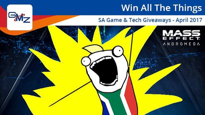 SA game and tech giveaways for early April 2017