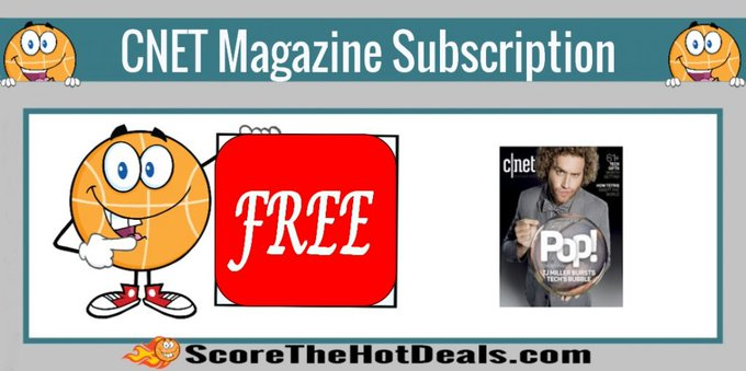 **FREE** CNET Magazine Subscription!free freebies freebie freemagazines