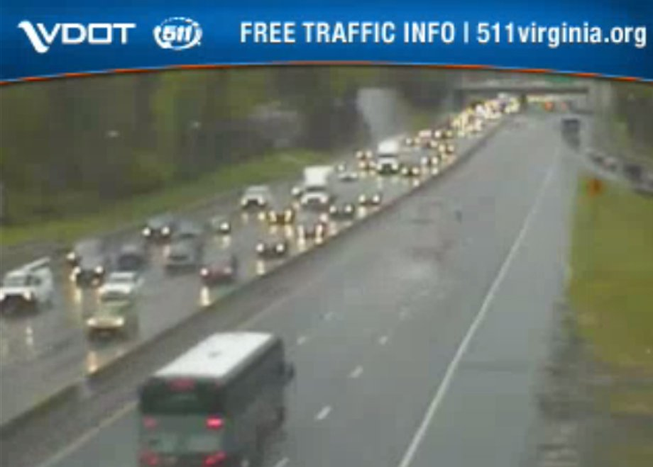 Rain is making the roads slick. check our traffic map and the vdot ...