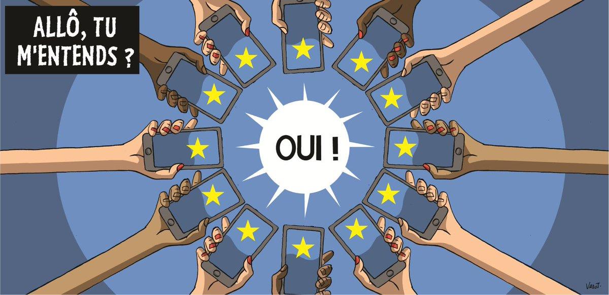 Oui, le 15 juin 2017 marquera la fin des frais d'itinérance dans toute l'UE ! 🇪🇺😃https://t.co/rxgkN01Zul  #roaming #DecodeursUE