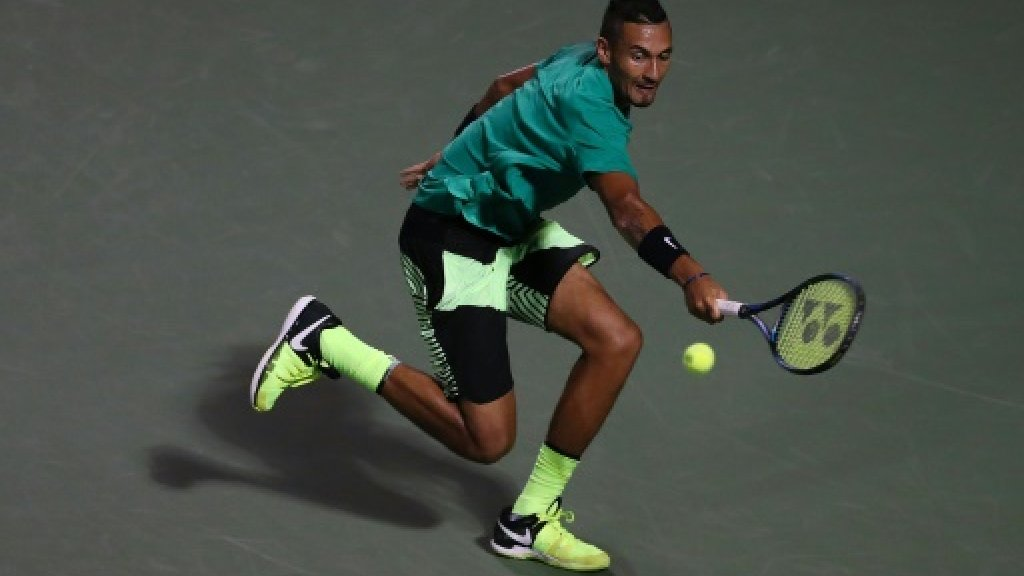 USA wary of 'incredible' Kyrgios in Davis Cup