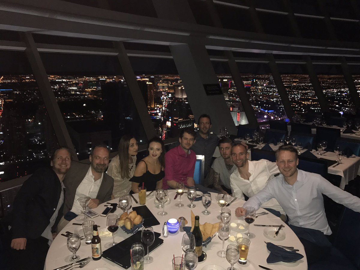 gene_commerce: Thank you @magento for an amazing #Magentoimagine see you next year, feeling on #topOfTheWorld @LVStratosphere https://t.co/Vzru1YAOjD