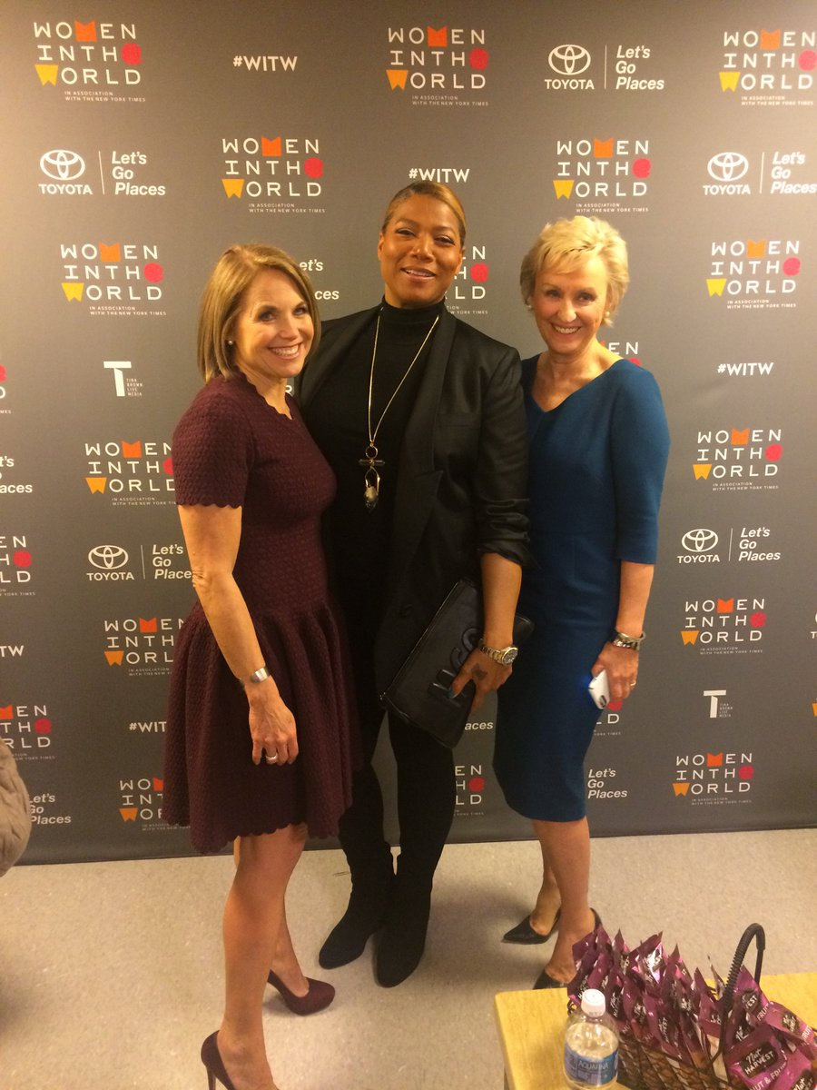Backstage at #WITW with @katiecouric and @TinaBrownLM https://t.co/MyGf795jYu
