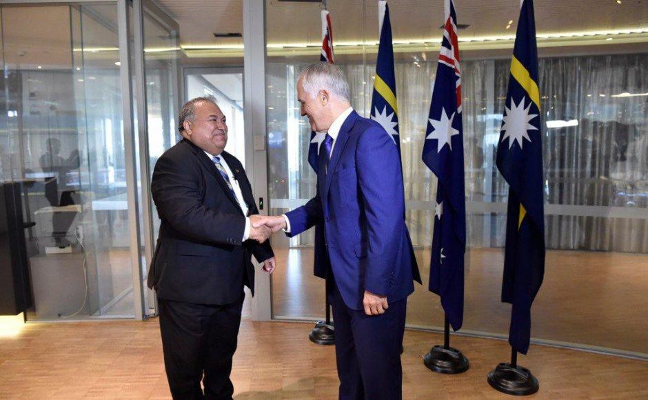 Nauru has 'best practice' in the world for asylum seekers – president