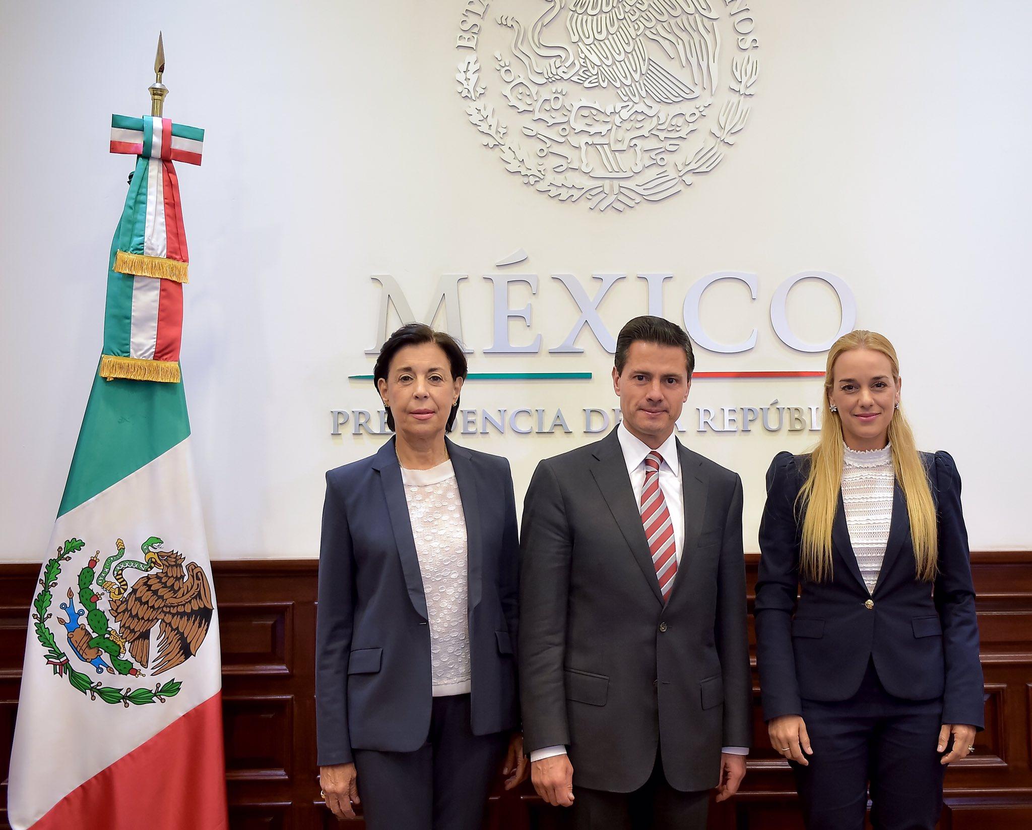 Me reuní con @liliantintori para hablar sobre la situación en Venezuela y reiterarle la posición de México. https://t.co/krcPhp93OZ