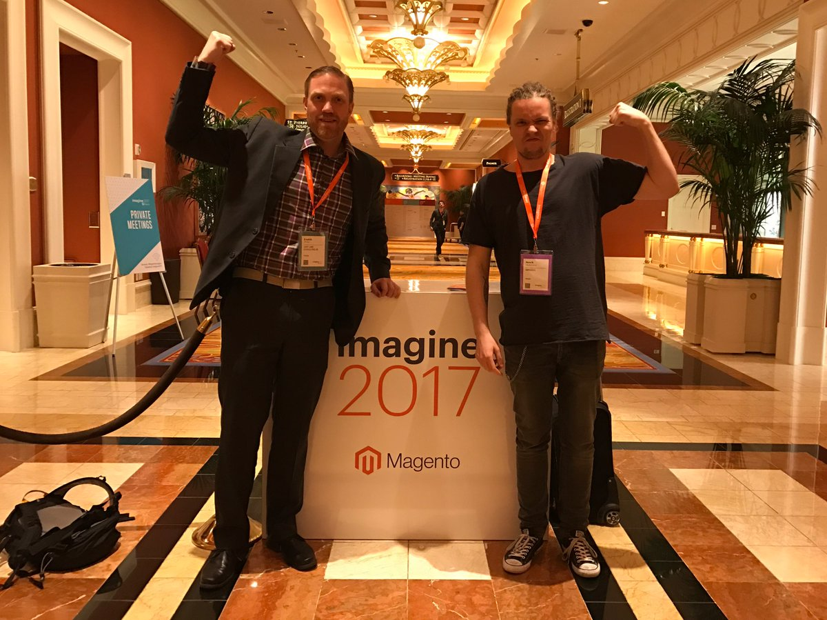 fredrikahlen: @magento Thanks for a great conference! #Magentoimagine #singlebiceps https://t.co/Rk2IIcPBTW
