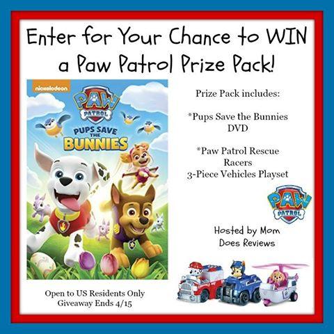 Paw Patrol Prize Pack GA-1-US-Ends 4/15