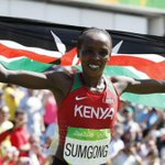 Olympic gold medalist Jemimah Sumgong fails drug test