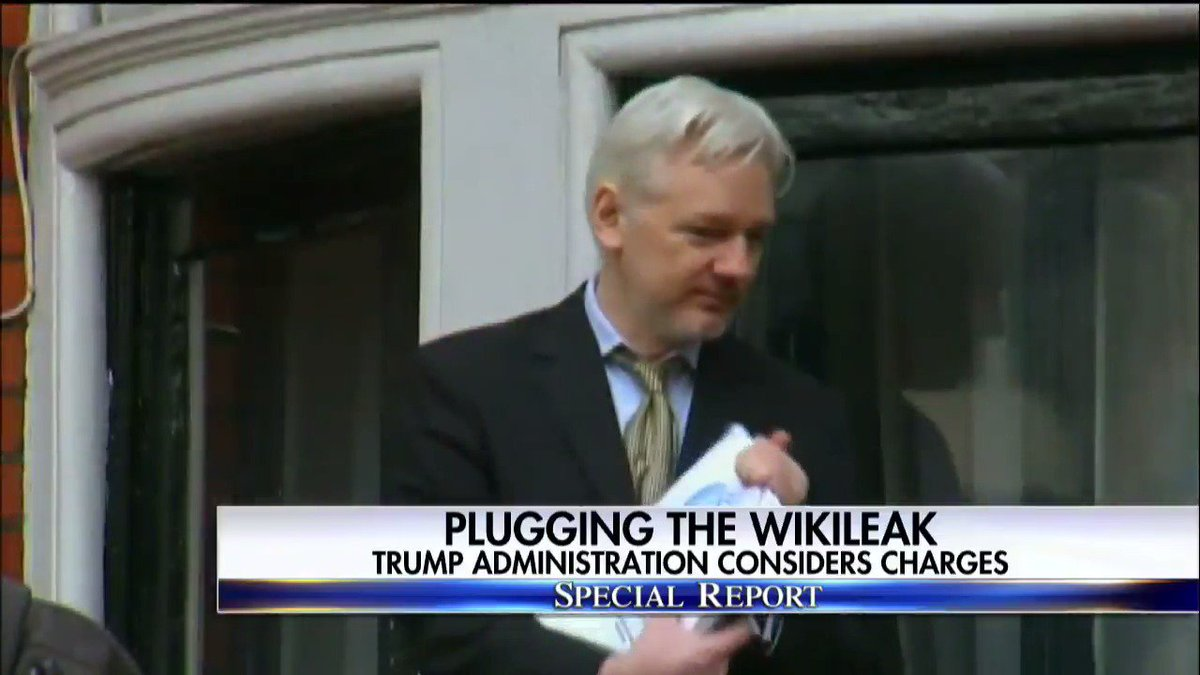 Plugging the Wikileak - Trump Administration considers charges; Catherine Herridge reports. #SpecialReport