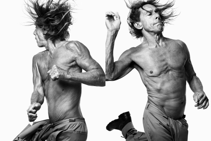 "Happy birthday IGGY POP   ""Private Hell\"""